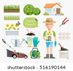 Conceptual Of Gardening ....