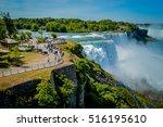 niagara falls | Shutterstock . vector #516195610