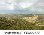 landscape of crete island in... | Shutterstock . vector #516200770
