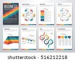 infographic vector set.... | Shutterstock .eps vector #516212218
