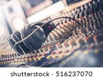 mixer and professional... | Shutterstock . vector #516237070