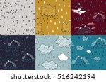 set of travel vector... | Shutterstock .eps vector #516242194