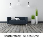 white empty interior with a... | Shutterstock . vector #516253090