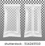 transparent packaging for... | Shutterstock .eps vector #516265510