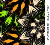 floral background. full... | Shutterstock .eps vector #516267484