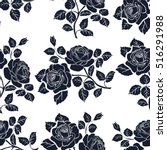 Floral Seamless Pattern. Flora...
