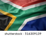 waving colorful national flag... | Shutterstock . vector #516309139