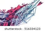 abstract 3d rendering of...   Shutterstock . vector #516334123
