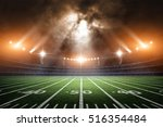 american soccer stadium  3d... | Shutterstock . vector #516354484