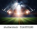 stadium  3d rendering | Shutterstock . vector #516355180