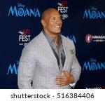 dwayne johnson at the afi fest... | Shutterstock . vector #516384406