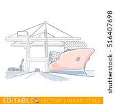 Harbor Cranes Are Loaded...