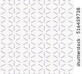 vector pattern abstract minimal ... | Shutterstock .eps vector #516439738