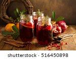 Pomegranate And Orange Winter...