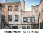 View Of The Back Alley With...