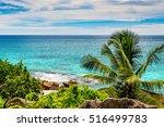 amazing tropical beach | Shutterstock . vector #516499783