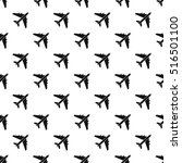 plane pattern. simple... | Shutterstock .eps vector #516501100
