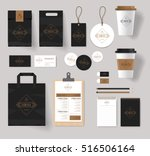 corporate branding identity... | Shutterstock .eps vector #516506164