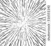 radial speed  explosion  warp ...   Shutterstock .eps vector #516551140