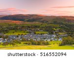 sedbergh is a small town and... | Shutterstock . vector #516552094
