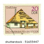 germany   circa 1981  a stamp... | Shutterstock . vector #51655447