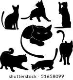 Black Cat Silhouette...