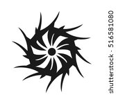 sun or circle tribal   Shutterstock .eps vector #516581080