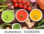 vegetable soup   Shutterstock . vector #516582340