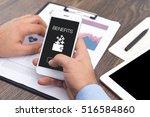 benefits concept | Shutterstock . vector #516584860