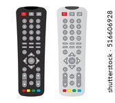 Black And Gray Remote Control...