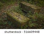 Old Gravestone On Ancient...