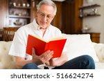 portrait of an happy mature man ... | Shutterstock . vector #516624274