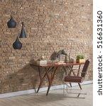 modern natural wallpaper with... | Shutterstock . vector #516631360