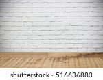 empty wooden table for product... | Shutterstock . vector #516636883