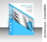 business annual report brochure ... | Shutterstock .eps vector #516638884