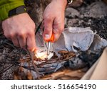 close up of a man's hand... | Shutterstock . vector #516654190