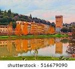 Autumn In Old Italian Town....