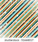 grungy geometric background... | Shutterstock .eps vector #51668017