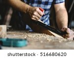 carpenter craftsman lumber... | Shutterstock . vector #516680620