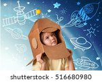 kid. | Shutterstock . vector #516680980