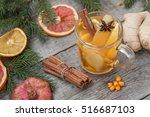 Christmas Composition. Spruce...