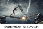 overcoming challenges and... | Shutterstock . vector #516699334