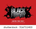 black friday sale banner   Shutterstock .eps vector #516711403