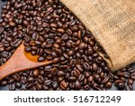 roasted coffee beans | Shutterstock . vector #516712249