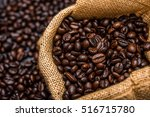 roasted coffee beans | Shutterstock . vector #516715780