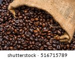 roasted coffee beans | Shutterstock . vector #516715789