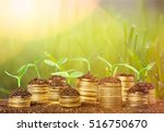 growth. | Shutterstock . vector #516750670