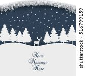 merry christmas   happy new year | Shutterstock .eps vector #516799159