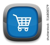 shopping cart icon | Shutterstock .eps vector #516808579