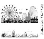 vector illustration.roller... | Shutterstock .eps vector #516816538